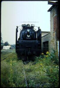 Original Railroad Slide OSLD NKP 174 Steam Supplier at Walden NY 11/59