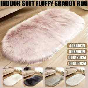Soft Fur Shaggy Fluffy Area Rugs Floor Mat For Home Living Room Bedroom Carpet