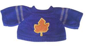 """Sweater Fall Leaf Fits Most 14"""" - 18"""" Build-a-bear and Make Your Own Stuffed Ani"""