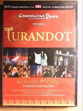 DVD OPERA RARE / TURANDOT / ROBERTO PATERNOSTRO / NEUF SOUS CELLO
