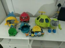 Octonauts toy bundle   with figures for spares or repair