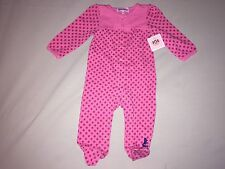 NEW JUICY COUTURE ONE PIECE 3 6 MONTHS CUTE PINK FLOWERS