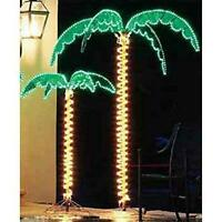 EEZ RV Products 7 Foot High Super Bright LED Lighted Tropical Palm Tree - 5