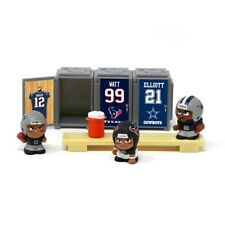 NFL Teenymates Series 6 Aaron Rodgers Locker Room sets of 3 players & Lockers