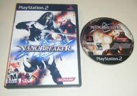 NanoBreaker GAME & CASE for your Playstation 2 PS2 system VG