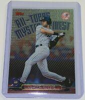 1999 Topps All-Topps Mystery Finest Derek Jeter #M9 MLB New York Yankees HOF