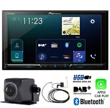 "Pioneer SPH-DA230DAB 7"" Schermo Apple Auto Play Bluetooth + ND-BC8 fotocamera + ANTENNA"