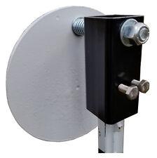 Tpost Steel Target Hanger, T Post AR500 / A36 Plate Mount