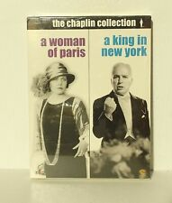 NEW A Woman Of Paris / A King In New York (DVD, 2-disc) Charles Charlie Chaplin