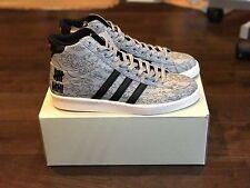 Adidas Undefeated x MHI Jabbar Mid schwarz weiß orange SZ 10 NIB B33982 UNDFTD