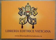 Postcard of the Vatican official publisher  Libreria Editrice Vaticana LEV