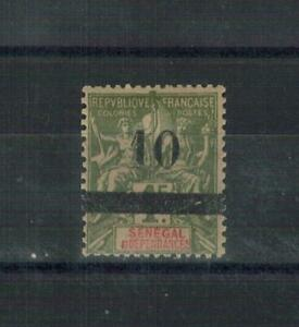 SENEGAL . N° 29 . 10   SUR  1 F   . NEUF  *. SUPERBE .