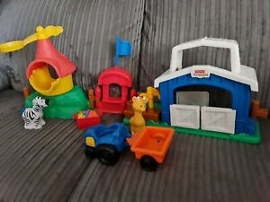 Fisher Price Little People Zoo Farm Set with animal figures