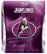 Star Trek The Next Generation Season 7 Seven Blu Ray Region B &