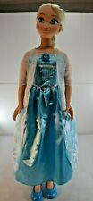 Disney Frozen Elsa 3 Foot Life Size Doll Good Condition