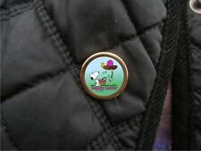 Happy Easter - Snoopy and Woodstock pin lapel badge