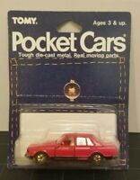 Tomy Pocket Cars Tomica Japan Nissan Bluebird Turbo Mint Package No.17 Red #3010