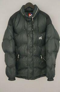 Men Millet Jacket Down Black Breathable Classic Walking 2XL VAU98
