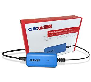 AutoAid PRO - OBD2 - Diagnose-Set: Fehler lesen und löschen, Service-Reset uvm.