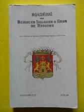 Société des Sciences Lettres et Arts de Bayonne n° 145 1989 églises Franc-Maçons
