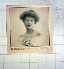 1912 Miss Florence Petre Who Gave Dance At Claridges Blind