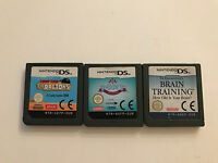 3 x DS,DS LITE, DSi 3DS Spiele- Pony Friends/Lucky Luke The Daltons/Dr. Kawashim