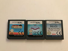 3 X DS, DS Lite, DSi giochi 3ds-Pony Friends/Lucky Luke the Fratelli Dalton/Dr. kawashim