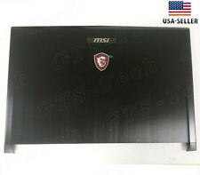 New Genuine MSI GS73 GS73VR LCD back cover 7RG-035CN Rear Lid 3077B5A213 USA