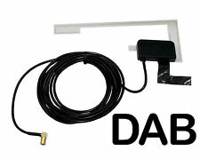ANTENNA AUTO UNIVERSALE DAB vetro Mount Patch Antenna CT27UV62 Window SMB AutoDAB