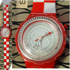 swatch scuba 200 vintage anni90 table cloths sdr900 orologio uomo donna bianco