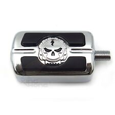 Chromed Skull Shifter Peg For Harley Sportster 1200 883 SuperLow