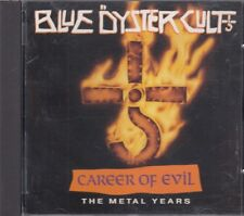 Blue Oyster Cult Career Of Evil The Metal Years CD FASTPOST