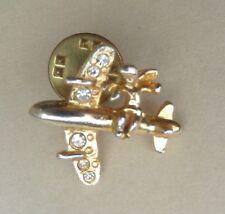 Angel Airplane Aircraft Lapel Hat Souvenir Pin