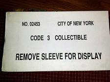 Code 3 City F.D.N.Y. Seagrave Pumper 48 Truck Case #02453  c3