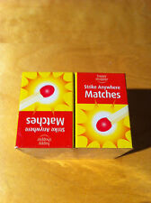 Matches 10 Boxes Strike Anywhere Ideal for lighting Candles BBQ Camping Fire