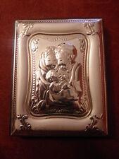 """Quadretto bomboniera in argento della Sacra Famiglia """" ArtiDea """""""