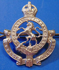 WW2 era Canada Armed Forces GGHG Governor General's Horse Guards cap badge KC
