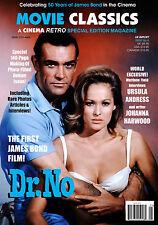 JAMES BOND DR. NO CINEMA RETRO MOVIE CLASSICS LIMITED EDITION SPECIAL ISSUE