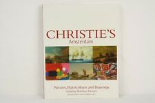 Auktionskatalog Christie's Amsterdam Pictures, Watercolors, Drawings 01.09.2004