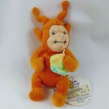 Orange Teletushy Meanies Twisted Toys Teletubbies Bean Bags plush