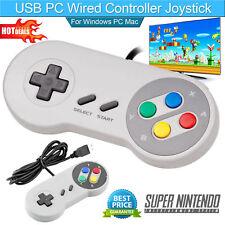 SNES Controller Gamepad USB For PC Mac Pi Super Nintendo Games Retro Classic USA