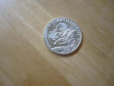 Apollo XIII (Spacecraft Odyssey & Aquarius) Sterling SILVER Round Medal, 38mm