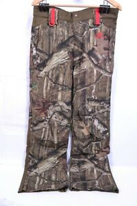 Women's Pants Camoflage Hunting Hiking Camp Breakup Mossy Oak Insulated Sz XL