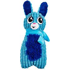 "Time for Joy MINTY BLUE BUNNY STICK Dog Toy Plush Hanukkah Holiday Squeaker 10"""