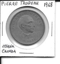 1968 So Called Trade Dollar Pierre Trudeau Ottawa Canada
