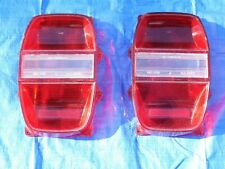 NORS PAIR OF 1968 FORD GALAXIE 500 TAIL LIGHT LENSES