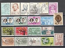 R7001 - BELGIO 1960/62 - LOTTO 20 TEMATICI DIFFERENTI DEL PERIODO - VEDI FOTO