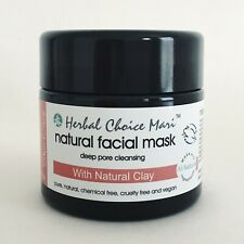 Herbal Choice Mari Natural Facial Face Natural Clay MASK Deep Pore Cleansing 5.2