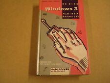 BOEK / DE GIDS - WINDOWS 3