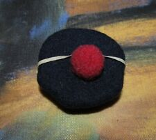 Antique Wool Doll's Mariner Sailor Hat for Small Miniature Bisque Doll!